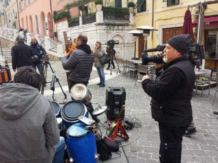 Troupe di Linea Verde ad Ancona