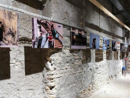 Inaugurazione di una mostra presso la Mole Vanvitelliana