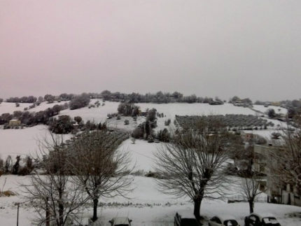 Neve a Trecastelli