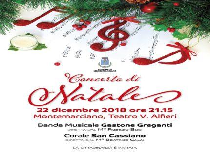 Concerto di Natale in programma a Montemarciano