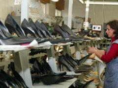 scarpe da donna, produzione Marche, distretto calzaturiero, export