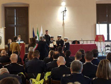 Premiazione degli agenti di Polizia Locale di jesi
