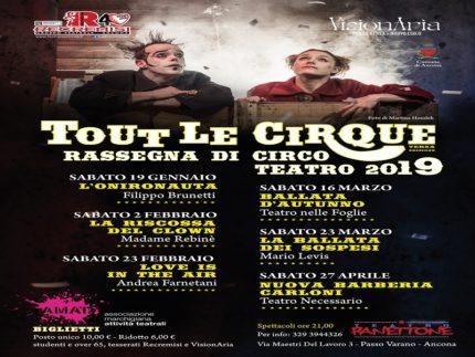 "Rassegna ""Tout le cirque"""