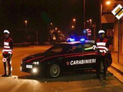 Posto di blocco dei Carabinier