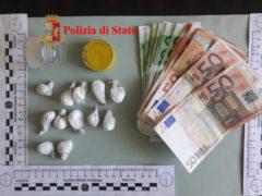 Arresto per spaccio di cocaina