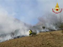 Incendio a Sassoferrato