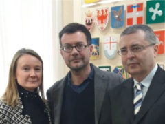 Daniela Longo, Andrea Nobili ed Enrico Formento