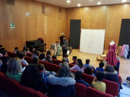 Spettacolo per bambini all'Auditorium Marini di Falconara