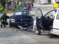 Incidente stradale a Castelplanio
