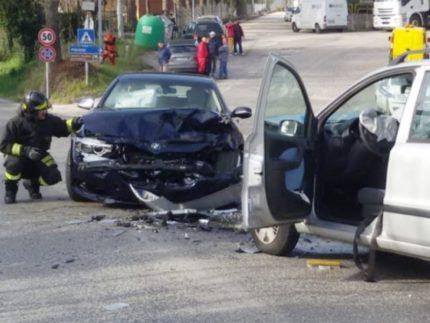 Incidente stradale a Castelplanio