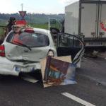 Incidente stradale a Senigallia: intervento dei VVFF