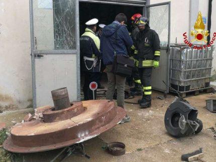 Esplosione della caldaia dell'ospedale di Jesi