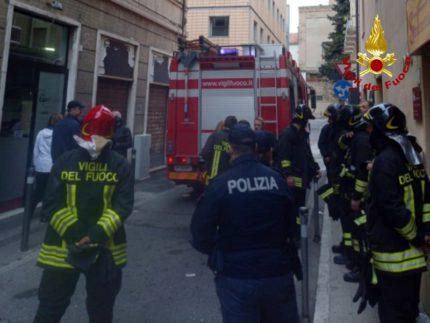 Incendio ad Ancona