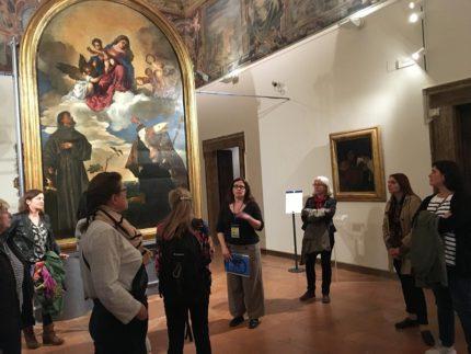 Delegazione di docenti stranieri in visita presso i musei anconetani