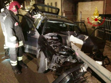 Incidente stradale a Osimo