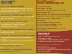 Programma della Notte dei Musei 2019 a Jesi