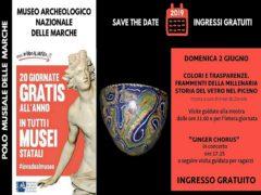 Locandina del Museo Archeologico delle Marche