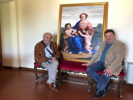 Opera d'arte donata al Comune di Sassoferrato dal pittore Mario Toni