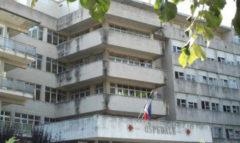 Il vecchio complesso dell'ospedale di Jesi nella sede di viale della Vittoria