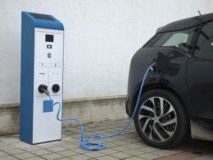 Colonnina per automobili elettriche