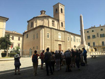 Croceristi in visita a Jesi
