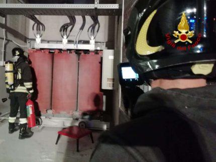 Incendio all'ospedale di Torrette