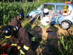 Incidente stradale a Offagna