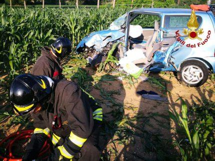 Incidente stradale a Offagna