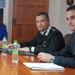 Il sindaco di Falconara Signorini, il tenente Ognissanti e il comandante Brunetti