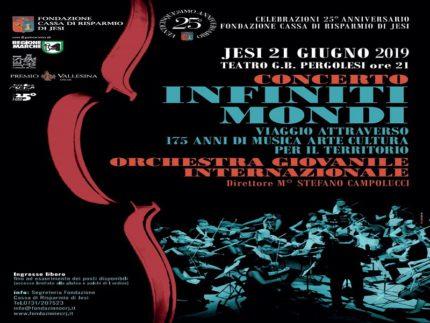 """Locandina del concerto """"Infiniti Mondi"""""""