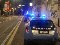 Polizia nel quartiere Archi di Ancona