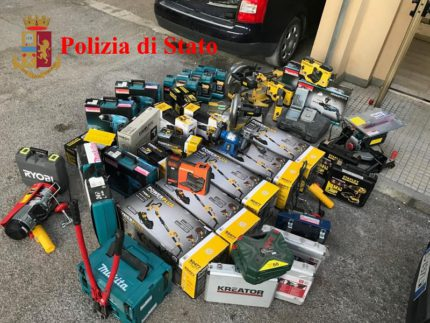 Arnesi rubati a Castelplanio