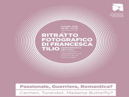 Concorso fotografico promosso dalla Fondazione Pergolesi Spontini