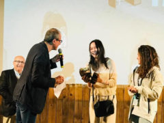 Animavì 2019 - Il premio a Nari Jang