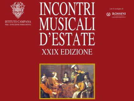 Edizione 2019 di Incontri Musicali d'Estate a Osimo
