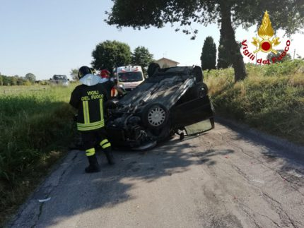 Incidente stradale a Monte San Vito