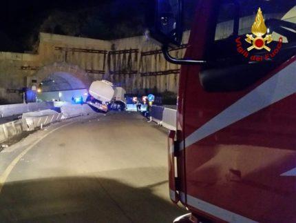 Incidente sulla SS76 nei pressi di Fabriano