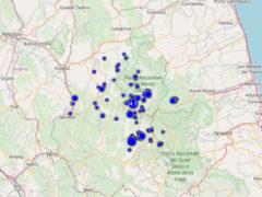 Scossa terremoto 4.1 del 01/09 a Norcia e localizzazione eventi nei 7 giorni precedenti