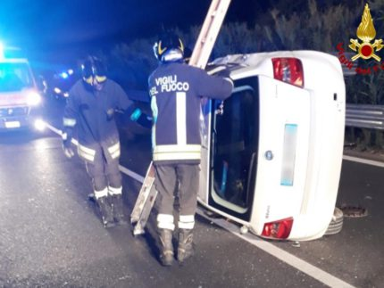 Incidente stradale a Loreto