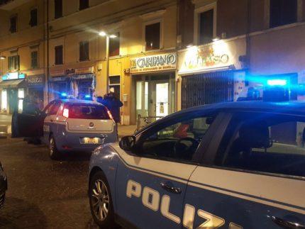 Operazione notturna della Polizia