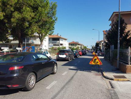 Via Marconi a Falconara Marittima