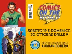 Comics on the Road al Centro Commerciale Auchan Conero