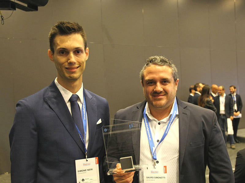 """Fondatori di Digimark ritirano il premio """"Top of the PID"""""""