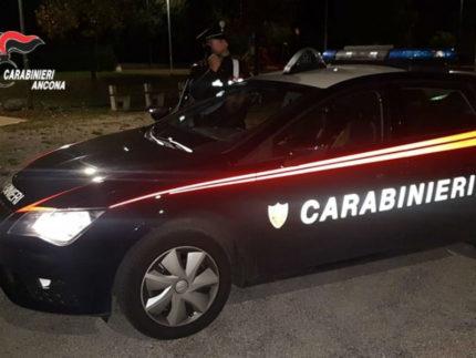 Carabinieri, pattuglia notturna