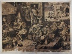 """Carta in esposizione presso la mostra """"Bibliotheca magica"""" a Jesi"""