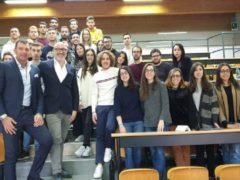 Lezione tenuta alla Facoltà di Economia di Ancona dai rappresentanti Elitron