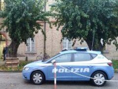 Sopralluogo della Polizia all'ex-Cras di Ancona