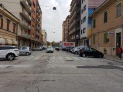 Via Bixio a Falconara Marittima