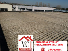 MC Coperture - Rimozione Eternit, rifacimento tetto - tel: 3347820166