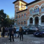 Esterno del museo della resistenza a Falconara
